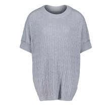 Betty Barclay Light Grey Knit Poncho