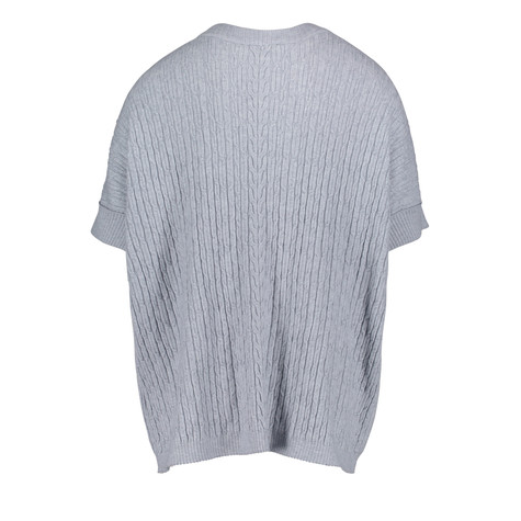Betty Barclay Light Grey Knit Poncho