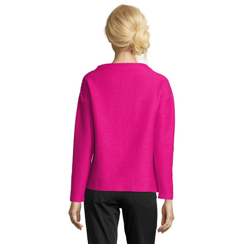 Betty Barclay Raspberry Rose Rib Knit