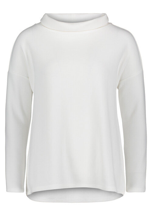 Betty Barclay White Roll Neck Knit