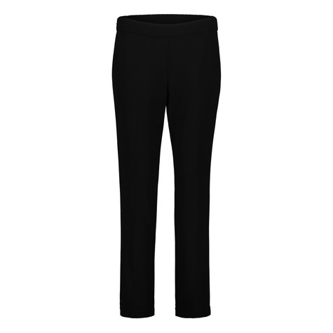 Betty Barclay Black Elastic Waist Basic Trousers