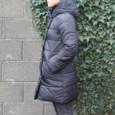 Laura Jo Black Padded Coat - NOW €60