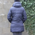 Laura Jo Navy Padded Jacket - NOW €50
