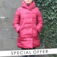 Laura Jo Wine Padded Coat - NOW €60