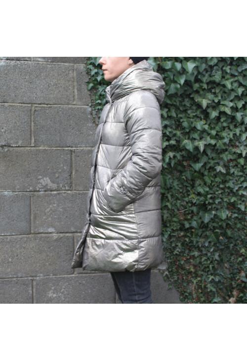 Laura Jo Gold Padded Coat - NOW €50