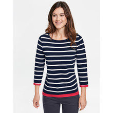 Gerry Weber 3/4 sleeve sweater with stripes