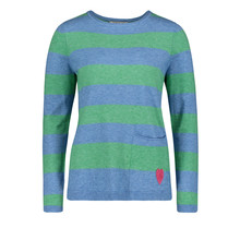 Betty Barclay Blue & Green Fine knit jumper