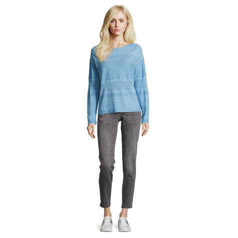 Betty Barclay Light Blue Melange  Fine knit jumper