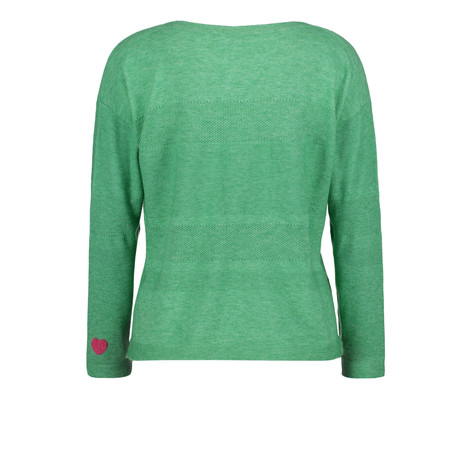 Betty Barclay Middle Green Fine knit jumper