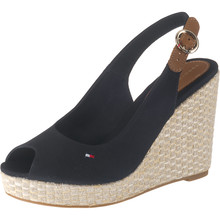 Tommy Hilfiger ICONIC ELENA MIDNIGHT SLING BACK Sandals