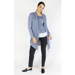 SophieB Light Blue Shimmer Open Knit