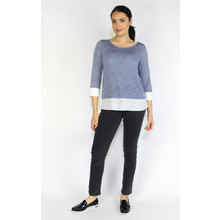 SophieB Light Blue Shimmer 2 in 1 Knit