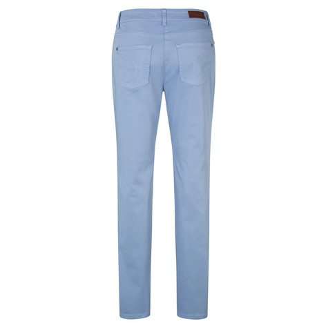 Olsen TROUSERS MONA SLIM - BLUE WATER