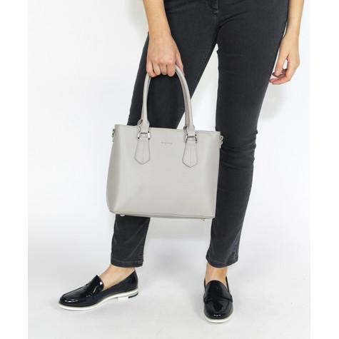 Dave Jones Grey Small Shopper Bag