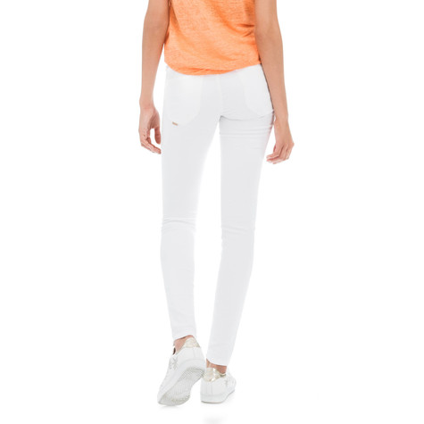 Salsa Jeans SECRET PUSH IN WHITE SKINNY JEANS