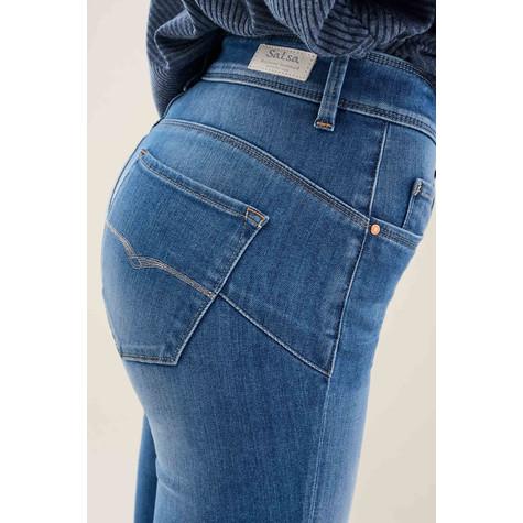 Salsa Jeans SECRET GLAMOUR CAPRI JEANS WITH ZIP