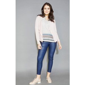 Twist Blush Light Weight Open Knit