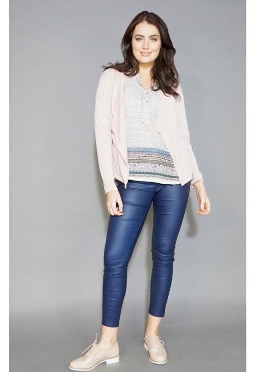 Twist Blush Light Weight Open Knit