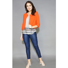 Zapara Orange Crop Jacket