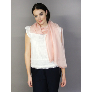 Pamela Scott Rose Two Tone Scarf