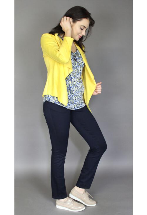 Sophie B Sunshine Crop Biker Style Jacket