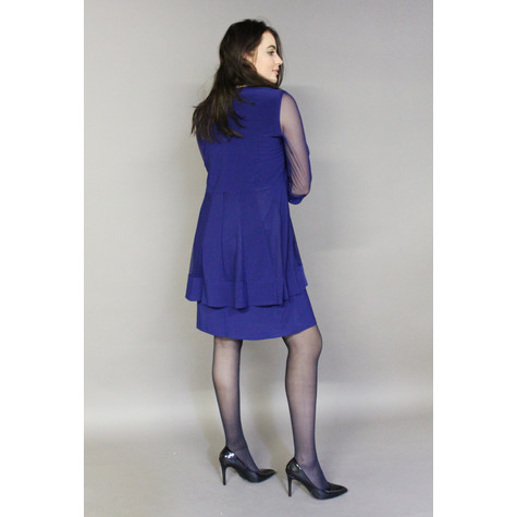 R and M Richard Royal Blue Chiffon Top & Dress