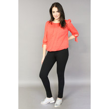 Zapara Orange Cutie Style Blouse