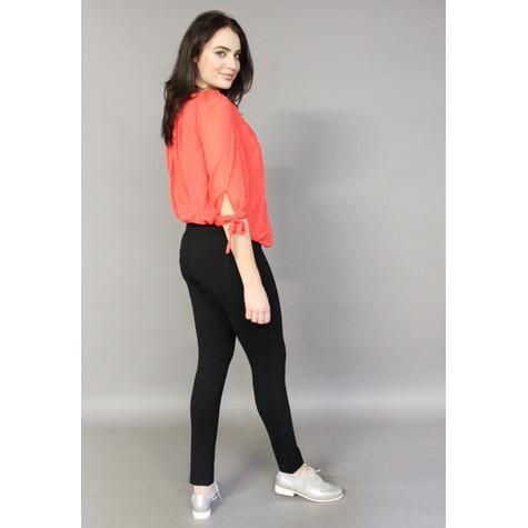 Zapara Orange Cutie Style Blouse