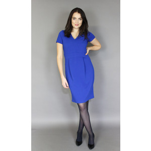 Zapara Colbolt Panel Straight Dress