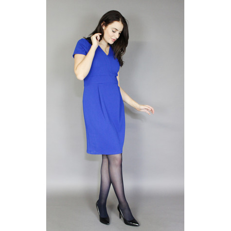 Zapara Colbolt Panel Straight Dress