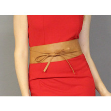 Pamela Scott Tan Tie Around Belt