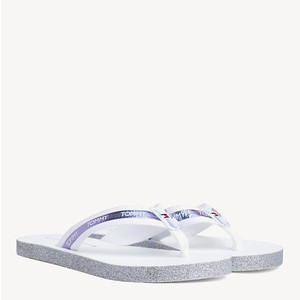 Tommy Hilfiger IRIDESCENT FLAT BEACH SANDALS