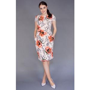 Zapara Pink Floral Belt Detail Dress