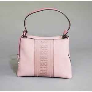 Gionni Lilac Laser Cut Pattern Hand Bag