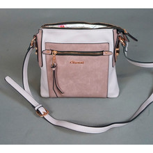 Gionni Lilac Two Tone Handbag