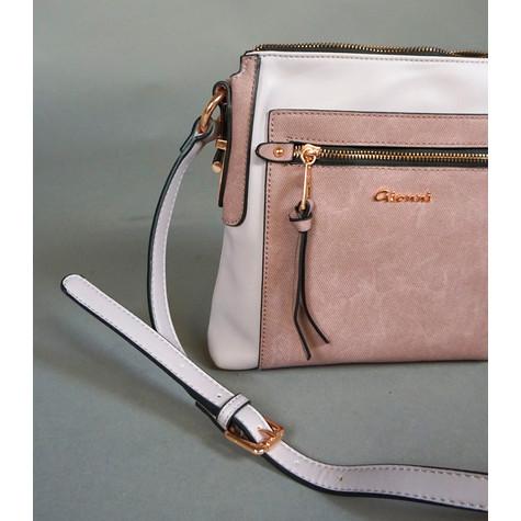 Gionni Lilac Two Tone Handbag