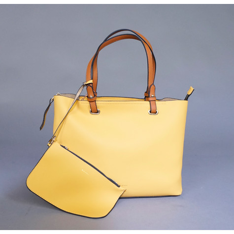 Gionni Mustard Double Handbag
