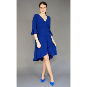 9348d12652b7f Scarlett Royal Blue Wrap Dress