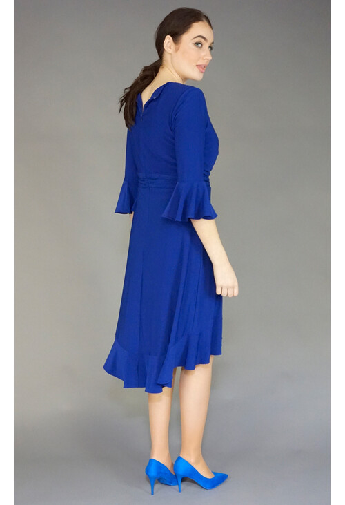 Scarlett Royal Blue Wrap Dress