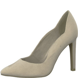 Marco Tozzi Nude Colour Hi-heel Court Shoe