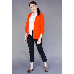 Zapara Red Gathered Sleeve Jacket