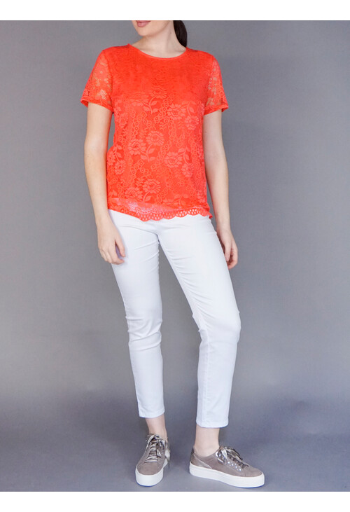 Twist White Jegging Trousers