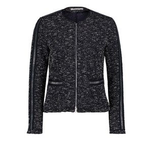 Betty Barclay Dark Blue/White Tweed Blazer