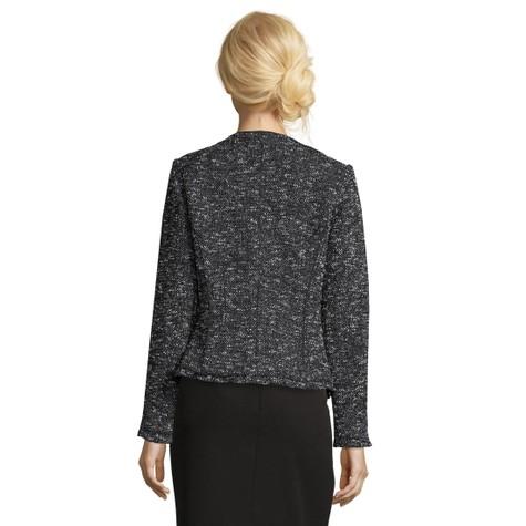Betty Barclay Dark Blue/White Tweed Blazer