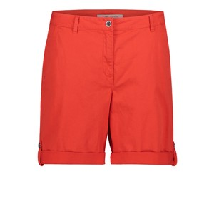 Betty Barclay Hibiscus Red Basic Shorts