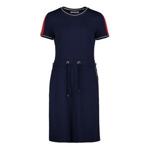 Betty Barclay Dark Sky Jersey dress With a Round Neckline