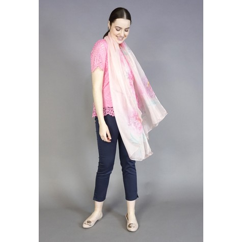 Best Angel Rose Light Abstract Print Scarf