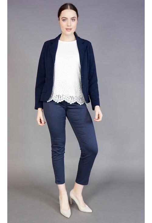Twist Navy 3 Button Jacket
