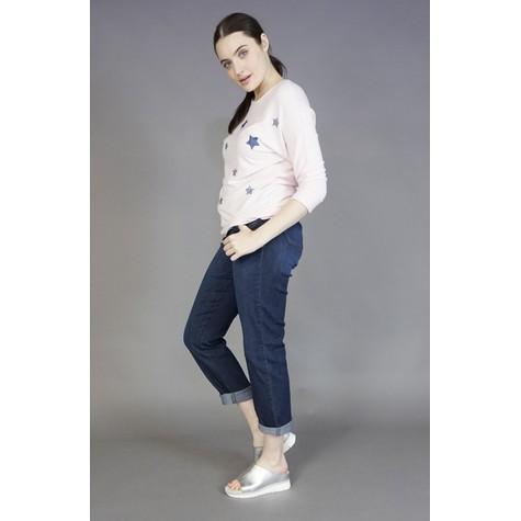Democracy Straight Leg Indigo Denim Jeans
