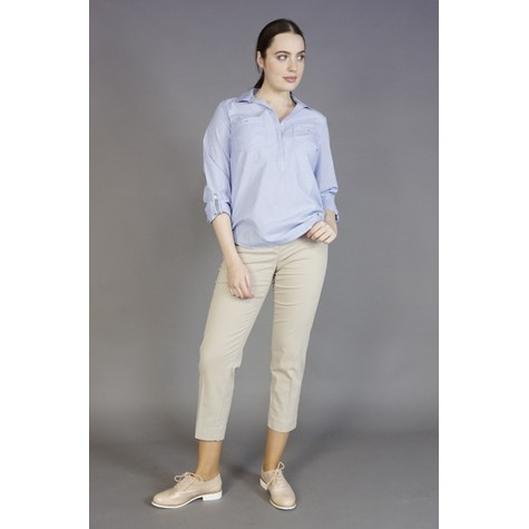 Brax Beige City Trousers